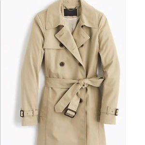 Jcrew collection Icon trench coat in tan size 12